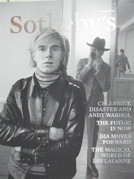 【書寶二手書T9/收藏_DSM】Sotheby s_Celebrity Disaster and Andy Warhol…2013/11