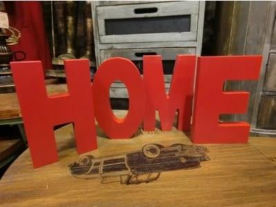 [協貿國際]   簡約字母擺件婚禮家居裝飾品擺件  (1入)