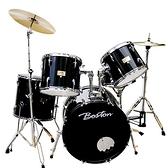 Boston 入門嚴選GPC-56標準爵士鼓組-黑