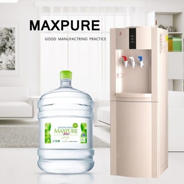 壓縮機式立式冰溫熱飲水機+麥飯石涵氧水12.25公升20桶