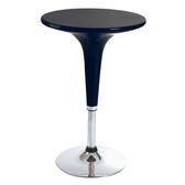【YFS】提絲伸縮吧台休閒桌-60x60x92cm(兩色可選)黑
