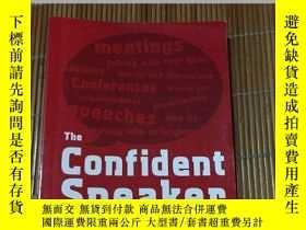 二手書博民逛書店The罕見Confident Speaker英文原版Y18297
