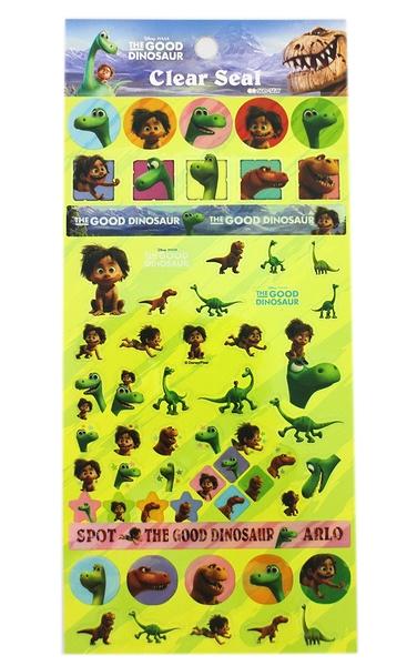 【卡漫城】 恐龍當家 貼紙 ㊣版 日本製 Dinosaur 阿羅 Arlo 裝飾 造型 小野人 小巴 小奈 暴龍 雷龍