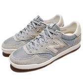 New Balance 休閒鞋 CRT300 N字鞋 灰 米白 麂皮 膠底 低筒 平底鞋 運動鞋 男鞋【PUMP306】 CRT300SRD
