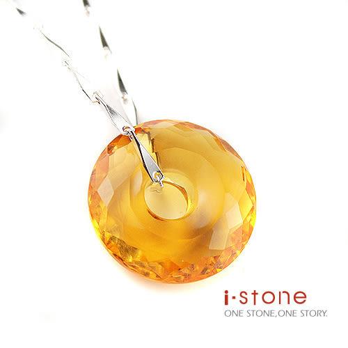 世紀女人同心緣黃水晶項鍊(大) 石頭記