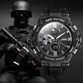 全館83折 手錶男特種兵戰術智能多功能學生運動機械學霸戰狼2軍人防水男士