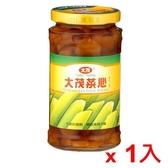 大茂玻璃瓶裝菜心375g【愛買】