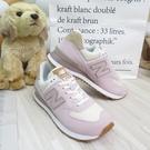 New Balance 574 女款 休閒鞋 B楦 復古運動鞋 WL574SP2 焦糖底 煙燻粉 【iSport愛運動】
