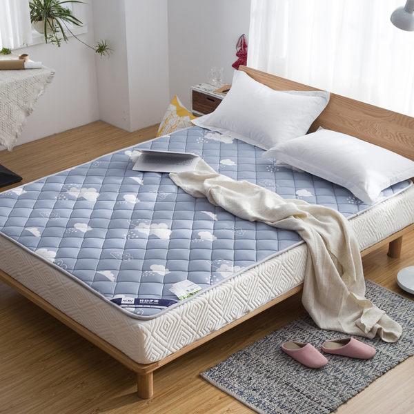 床墊 床墊1.8m1.5床1.2米單雙人薄褥子墊被學生宿舍折疊防滑榻榻米床褥【限時免運好康八折】