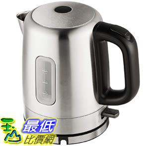 [8美國直購] 電熱水壺 AmazonBasics Stainless Steel Porrtable Electric Hot Water Kettle - 1 Liter, Silver