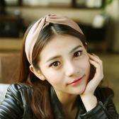 韓國寬邊打結髮箍頭箍發卡成人女簡約百搭防滑壓發圈發窟頭窟頭飾夢想巴士