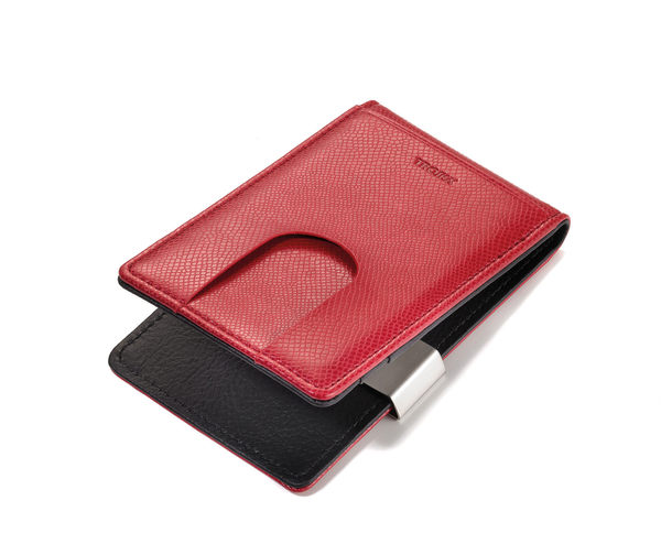 【WIZ微禮】TROIKA-CONFIDENCE  兩用錢夾 (紅色)