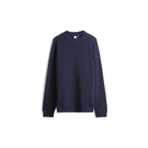 Gap男裝棉質舒適圓領套頭針織上衣509967-織錦海軍藍