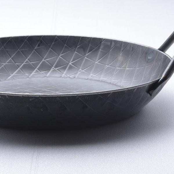 Turk 土克 熱鍛雙耳格紋深鐵鍋 深鍋 28cm 65930 德國製