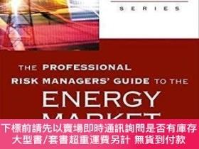二手書博民逛書店The罕見Professional Risk Managers Guide To The Energy Mark