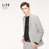 Formal 密織千鳥變化紋 修身西裝外套【11174】