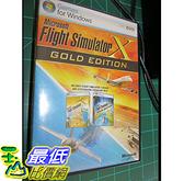 [106美國直購] 二手良品 Microsoft FLIGHT SIMULATOR X 10 GOLD EDITION -Acceleration Expansion Pack PC DVD