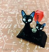 【收藏天地】小黑貓開運擺飾*幸福御守送禮 療癒小物辦公室桌上