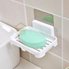 無痕貼瀝水肥皂架 浴室牆面肥皂盒 肥皂盤 免釘免鑽反覆使用【BD075】《約翰家庭百貨