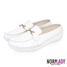 諾蕾蒂Normlady 女鞋 穆勒鞋 張...