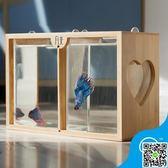 泰國生態懶人斗魚缸迷你小型創意辦公室迷你魚缸宿舍桌面小缸觀賞 MKS交換禮物