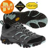 Merrell 32674 女GTX多功能登山健行鞋 Moab Gore-Tex耐走鞋/郊山鞋/健走慢跑鞋/黃金大底運動鞋