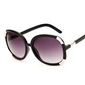 太陽眼鏡-偏光方形大框歐美時尚抗UV女墨鏡5色71g12[巴黎精品]