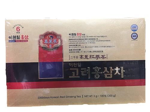 KOREAN高鹽六年根韓國高麗紅蔘茶3公克x100包