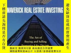 二手書博民逛書店Maverick罕見Real Estate InvestingY256260 Bergsman, Steve
