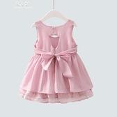 女童裙子夏裝新款公主裙韓版洋氣夏季女小童寶寶洋裝 易家樂