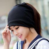 堆堆帽月子帽女春秋冬天孕婦帽子產婦帽頭巾薄款男士套頭帽包頭睡帽韓版-花戀小鋪