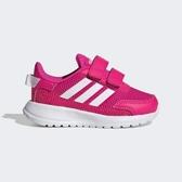Adidas Tensaur Run I [EG4141] 小童鞋 運動 休閒 慢跑 舒適 緩衝 魔鬼氈 愛迪達 粉白