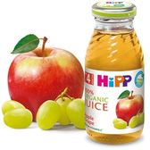 Hipp 喜寶 有 機綜合蘋果葡萄汁200ml X6罐434 元