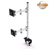 FOGIM 夾桌懸臂式雙液晶螢幕支架(終身保固)-TKLA-6032C3