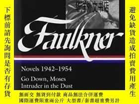 二手書博民逛書店【罕見】1994年出版 William Faulkner Novels 1942-54Y226683 Will