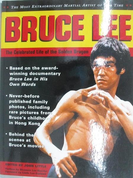 【書寶二手書T1/傳記_EAB】Bruce Lee: The Celebrated Life of the Golden Dragon