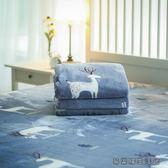 毛毯薄款被子加厚珊瑚絨保暖法蘭絨