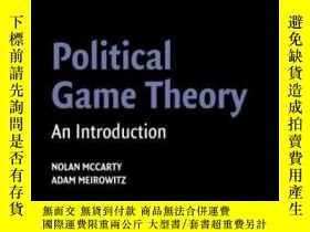 二手書博民逛書店Political罕見Game TheoryY307751 Nolan Mccarty Cambridge U