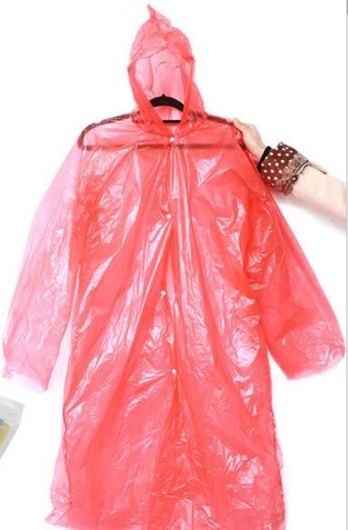 [協貿國際]  特大號一次性塑料雨衣/便攜雨具加厚 (5個價)