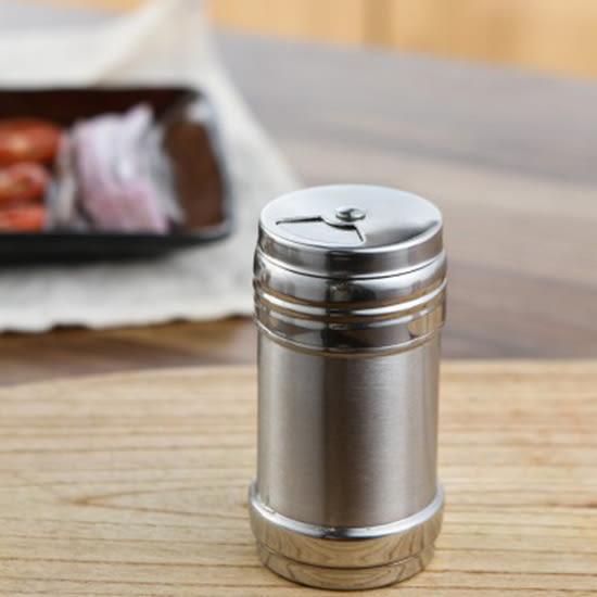 ♚MY COLOR♚不銹鋼調味罐 帶蓋 帶孔 廚房 燒烤 調味瓶 胡椒粉 佐料罐 辣椒粉 撒料罐【P560】