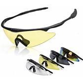 騎行跑步戶外運動太陽眼鏡男女自行車摩托車防風騎行眼鏡裝備配件  巴黎街頭