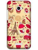 ♥ 俏魔女美人館 ♥  HTC Butterfly / X920D 蝴蝶 {鐵塔小狗*水晶硬殼} 手機殼 手機套 保護殼 保護套