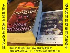 二手書博民逛書店英文原版罕見Judas Unchained : Part two