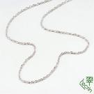 【LECRIN翠屋珠寶】義大利14K金項鍊-新式水波鍊1.5尺