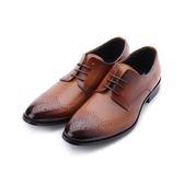 BABYLON 真皮雕花德比紳仕皮鞋 棕 14029 男鞋 鞋全家福