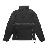 Nike 長袖T恤 Air Top 黑 白 男款 衝鋒衣 防風 運動休閒 【ACS】 CU4119-010