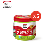 韓國泡菜-宗家府白菜切塊750g*2罐/組