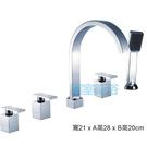 【麗室衛浴】國產精緻 五件式浴缸龍頭 LS5125
