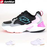 女款 LOTTO修腿百搭 厚底增高 慢跑鞋 厚底鞋 休閒運動鞋 59鞋廊
