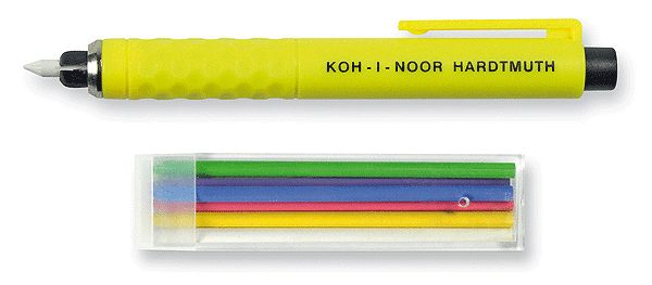 捷克製KOH-I-NOR set of tailor´s chalks裁縫設計美術專用草圖筆組*S128